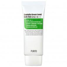 Заспокійливий сонцезахисний крем з центелла Purito Centella Green Level Safe Sun SPF50 + PA ++++