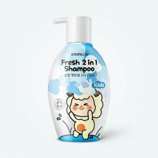 Детский шампунь  Atopalm Fresh 2in1 Shampoo Kids  380мл